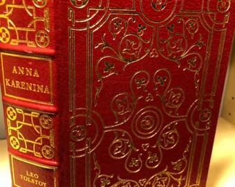 Easton Press Anna Karenina by Leo Tolstoy 100 Greatest