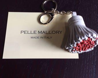 Pelle Mallory Leather Tassel Keyring/Bag Accessory