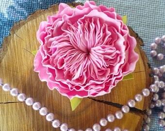 ENGLISH ROSE FОАМ.Floral.Wedding Wreath.Prom Hair Accessories  . Designer Hair Accessories. Handmade flowers.Wedding decorations