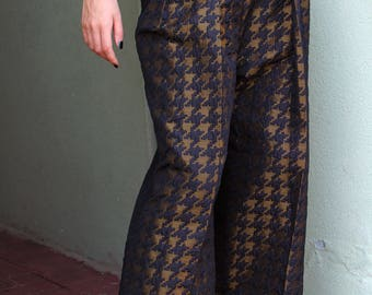 Silk blouse and pants