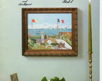 French Impressionists...... Cross Stitch Book by Pat Wilkie Keene - Book 1