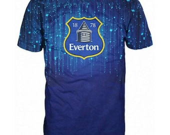 New ultramodern 3D  High Quality  Print Fans Everton short Sleeve t-shirt