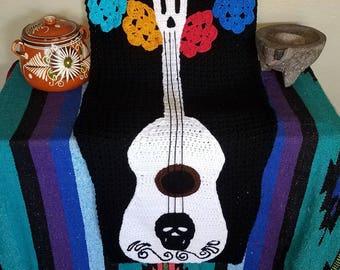 Crochet COCO inspired tail/sack blanket