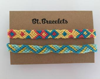 Armbands set of 2 friendship straps 1.50