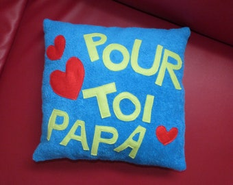 A pillow for my dad I love