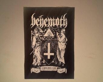 Behemoth The Satanist #2 patch black metal