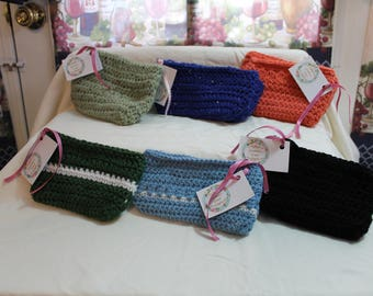 Various Crocheted Coin Purses with Cotton Lining