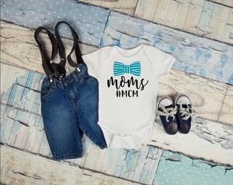 Mom's MCM Infant Onesie, Bodysuit, Moms man crush monday