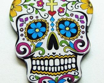Magnet skull Mexican model 4