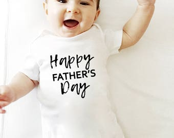 Happy Father's Day Onesie, Father's Day Gift, First Father's Day, Father's Day shirt, Father's Day Gift From Baby