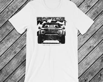 Ford F150 Raptor t-Shirt - Truck, 4X4, Offroad, Racing, FOX, SVT, American