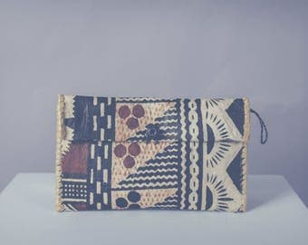 Block Printed Wallet