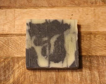 Activated Charcoal Tea tree & Cocoa Butter Soap