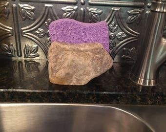 Kitchen sponge holder