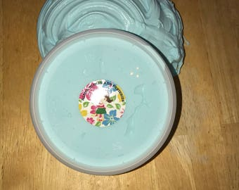 Blueberry Buttermilk Slime , 8oz butter slime