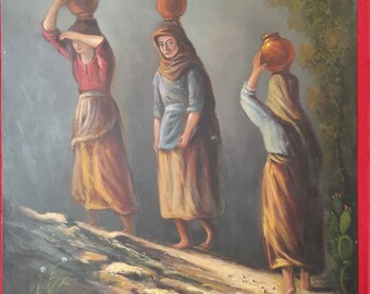 Mexican Vintage Painting