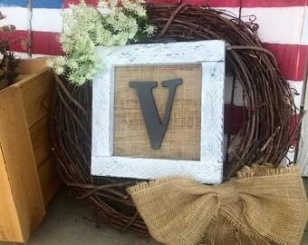 Family name wreath
