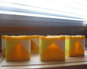 Fishing /Glycerin peach soap glycerin soap