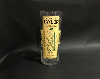 E.H. Taylor EH Taylor Candle Barrel Proof Bourbon Whiskey BOTTLE Soy Candle. Made To Order !!!!!!!