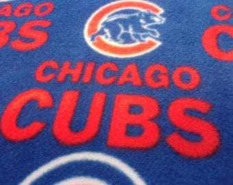 """Fleece Chicago Cubs Blanket 39"""" x 48"""""""
