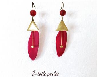 """""""Wing"""" earrings"""