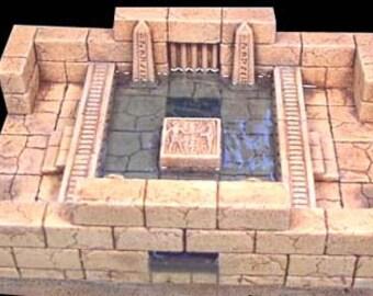 Desert Tomb  Water Crossing