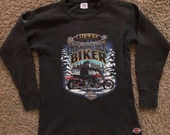 Vintage 1980s Harley Davidson thermal