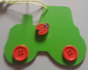 SALE*** Wooden Tractor ***FREE POSTAGE***
