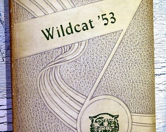 Summer Sale Covington Tennessee The Wldcat 1953 Yearbook Annual