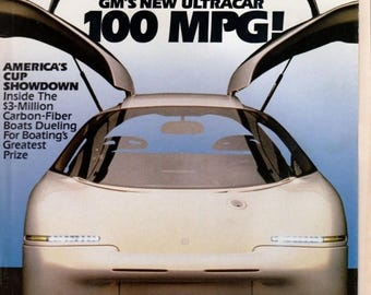 Summer Sale Popular Mechanics Magazine April 1992