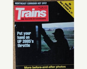 Trains Magazine July 1989