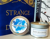 Book Boyfriend | Soy Candle |  Book Candle | Book Lover Gift | Flickering Tales