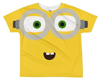 Minions All-over kids sublimation T-shirt - Funny kids t-shirt - Kids clothes - Kids tee - Funny kids t-shirts - minions t-shirt