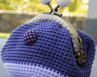 purse violette