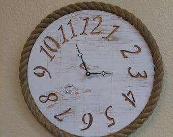"15"" Rope Clock"