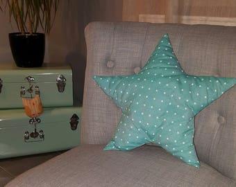 Star shaped cushion, and padding anti-mite cotton fabrics