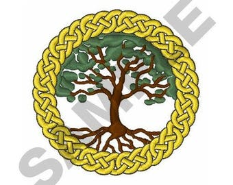 Celtic Tree Of Life - Machine Embroidery Design