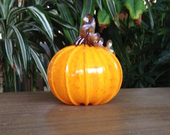 Glass Academy Pumpkin