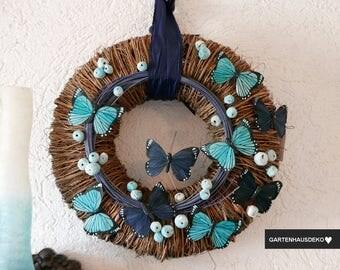 Door wreath * Butterfly * 40Ø