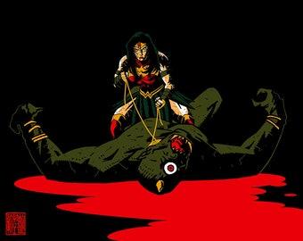 Wonder Woman- Warrior.