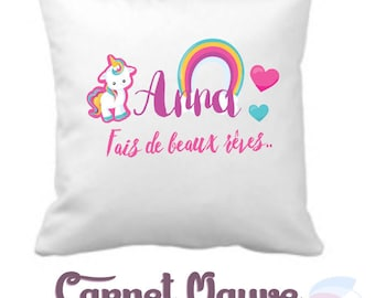 PERSONALIZED baby pillow - gift idea baby - birthday gift