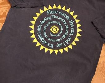 Beatles Here Comes The Sun Monogram Tshirt
