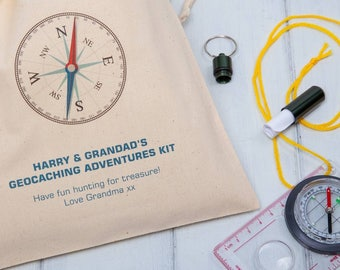 Personalised Geocaching Adventures Kit