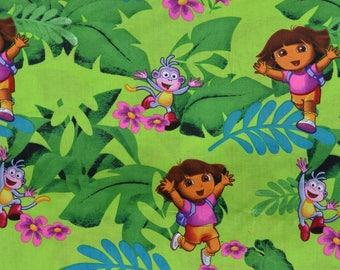 Dora The Explorer Window Valance Window Topper Treatment Children New Kids