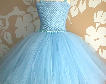 Baby Blue Tutu Dress, Blue Party Dress, Blue Dress, Tulle Tutu Dress, Blue Tutu Party Dress, Tutu Dress, Baby Blue Party Dress