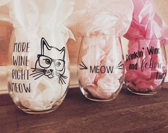 Personalized Cat glasses
