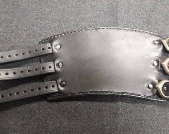 Leather forearm protector