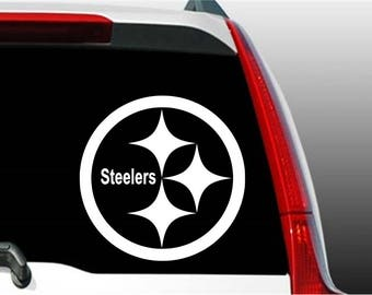Steelers Sticker, Steelers Decal, Pittsburgh Steelers Sticker, Football Sticker, Football Decal, Window Decal, Laptop Decal, Phone Decal