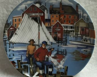 Avon American Portraits Mini Plate Collection - The East (#109)