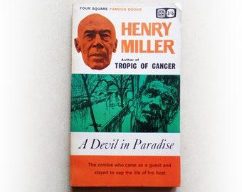 Henry Miller - A Devil in Paradise -  vintage paperback book - 1963